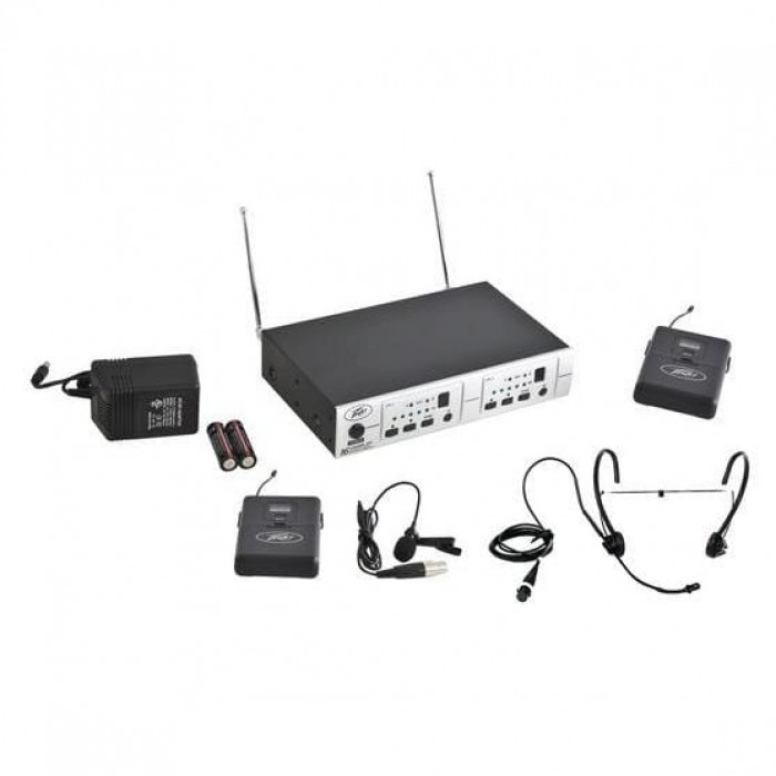 Peavey PV 16DR CHANNEL UHF DUAL RECEIVER - BL - BHS