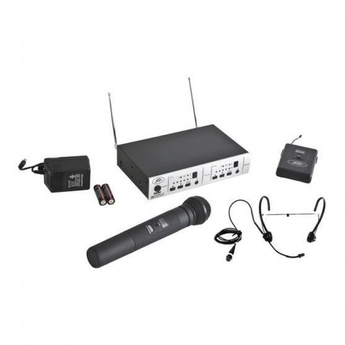 Peavey PV 16DR CHANNEL UHF DUAL RECEIVER - HH - BHS
