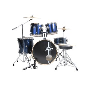Peavey PV 5PC Drum Set Blue