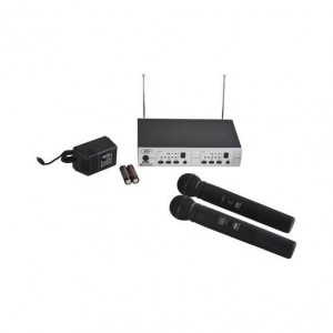 Peavey PV 16DR CHANNEL UHF DUAL RECEIVER - HH - HH